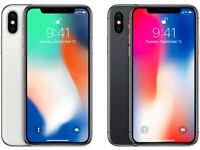 Apple iPhone X 256 GB Brand New Replacement Kits In Silver & Space Grey Colours