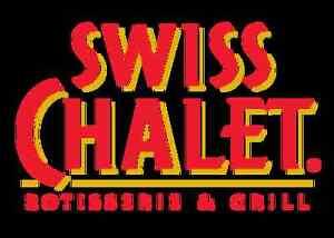 Swiss Chalet hiring full time blancher/dishwasher mon-fri