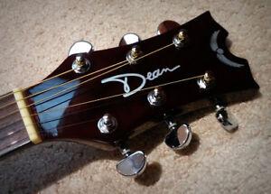 Dean Acoustic Electric Guitar - $195