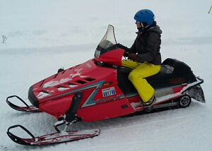 Well maintained Snowmobile