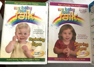 My Baby can talk. Sign language 2 DVD discs
