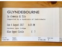 DISCOUNTED 2 Glyndebourne tickets Mozart's Clemenza di Tito