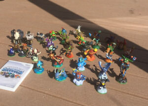 Skylanders Spyros Adventure and characters for the Wii