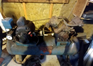 Estate Sale:  Brunner Air Compressor
