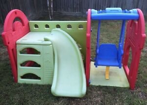 Play gym swing n slide Springfield Lakes Ipswich City Preview