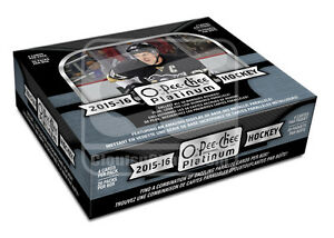 2015-16 Upper Deck O-Pee-Chee Platinum Hockey Cards Hobby Box