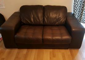 2 +1 Seater Genuine Italian Leather Sofa