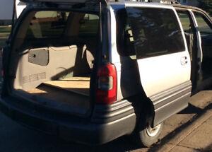 Work Van Montana with roof rack