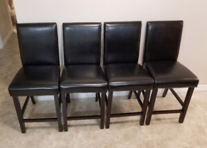 4 counter high chairs