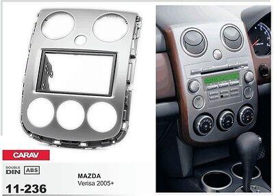 CARAV 11-236 2DIN Car Radio Dash Kit panel for MAZDA Verisa 2005+
