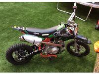 Stomp Juicebox 110cc Pit bike Pitbike Semi Auto Mint!!