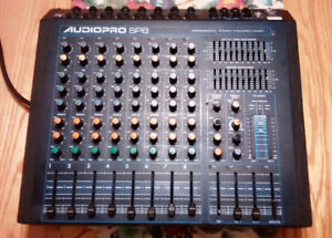 **REDUCED , or Trade ?? ** YORKVILLE AUDIOPRO SP8 POWERED MIXER