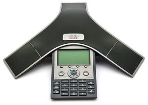 Cisco 7937 polycom. Enterprise IP phone with external mics