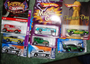 HW Midnight Otto 32 Ford Delivery R/R Plymouth Duster Taxi Cuda