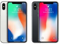 Apple iPhone X 64 GB Brand New rplacement kits without box In Silver & Space Grey Colours