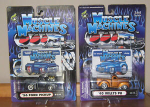 Assortment of Muscle Machines , M2 Diecast Models