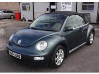 2004 (54) Volkswagen Beetle 1.6 S Cabriolet
