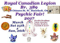 Exhibitors  wanted Havelock Psychic Fair .