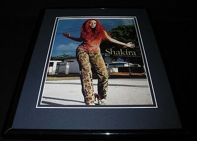 Shakira 1999 Framed 11x14 Photo Display