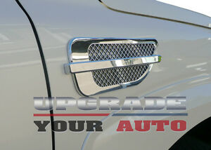 Chrome Side Air Vents