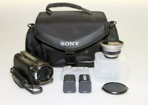 Sony Handycam HDR-XR500V Camcorder Package - Unused condition