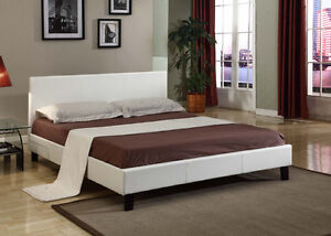Big choice of beds in faux leather,metal -30 to 50%.Delivery20$+
