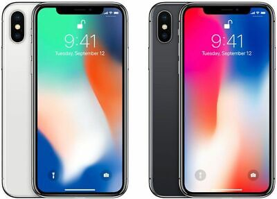 Apple iPhone X 64GB Unlocked SIM Free Smartphone Different Colours