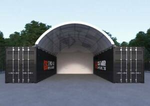 with FREE SHIPPING and 10yrs structural warranty 40ft Container Dome