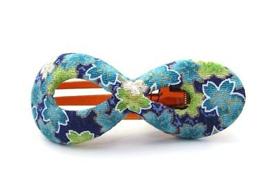 KIMONO CLIPS By Annie Loto ~ Infinity Silk Hair Clip Handmade Hair Jewelry  #14