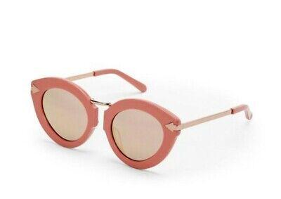 Karen Walker Lunar Flowerpatch 1601444 Rose Pink Cat Eye Sunglasses