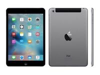 Apple iPad mini 2 WiFi + Cellular 4G - 32GB - Space Grey - MINT condition - BOXED WITH EXTRAS
