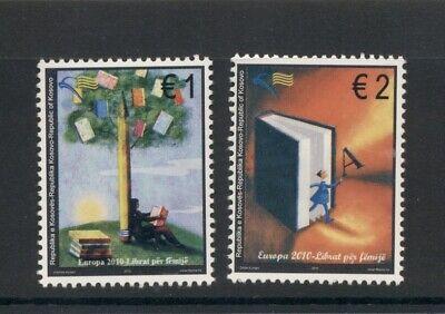 Kosovo #143-44 (2010 Europa set) VFMNH CV $8.00
