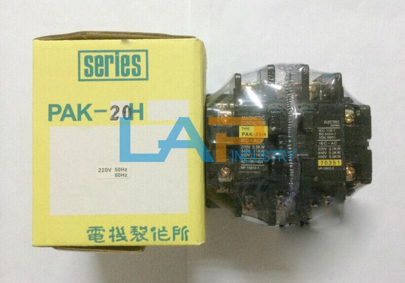 1PCS new For TOGAMI AC Contactor PAK-20H 220VAC PAK20H