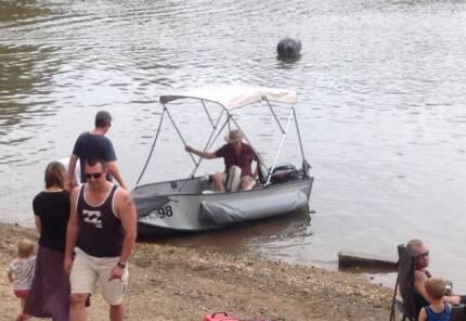 Boat, trailer, motor, good condition