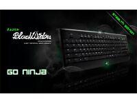 2013 Razer Blackwidow Stealth gaming keyboard & 2014 Razer Naga gaming mouse!!