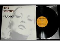 The Smiths ‎– Rank, VG, gatefold sleeve, released on Rough Trade ‎in 1988, 80s Indie Vinyl Record