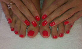 Gel Manicure, Pedicure and Eyebrows