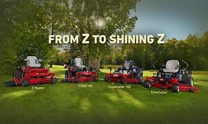 All Toro Zero Turns and Walk Power Mowers are on sale at CR Equipment!