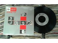 The Beat ‎– Jeanette, VG, 7 inch single, released ‎in 1982, Cat No FEET 15, Ska Mod Revival Vinyl