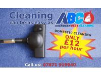 £12 per hour! Domestic, Deep, End of Tenancy, Office Cleaning - nothing is to hard for us!