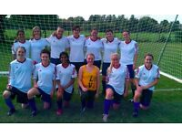 WOMENS FOOTBALL CLUB LOOKING FOR EXPERIENCED PLAYERS WOMENS/LADIES FOOTBALL/SOCCER