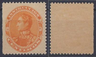 *VENEZUELA*   Sg. 206,  1900,  5c,   BOLIVAR,    M/NH
