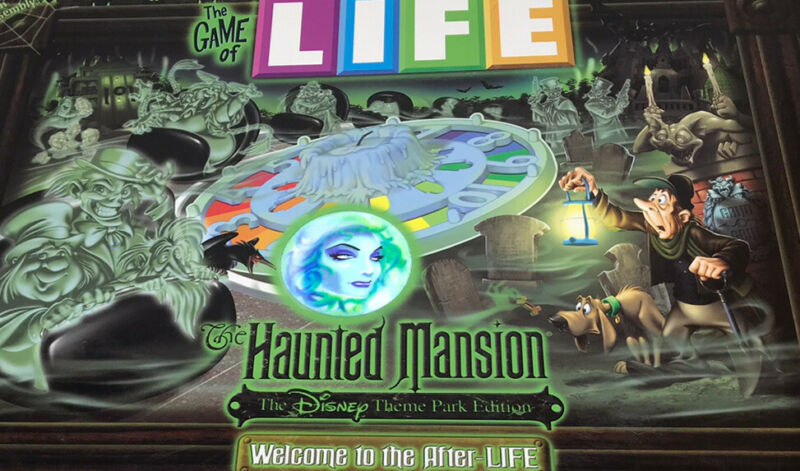 The Game of Life Haunted Mansion Edition, Disney Theme Parks Exclusive