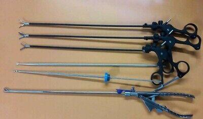 Laparoscopic Storz Type Grasper Dissector Training Needle Holder Instruments Set
