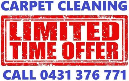 3 ROOMS $60 CARPET STEAM CLEANING O431376771 (Limited Time Offer)