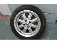 BMW Tyres with Alloy Rims (4)