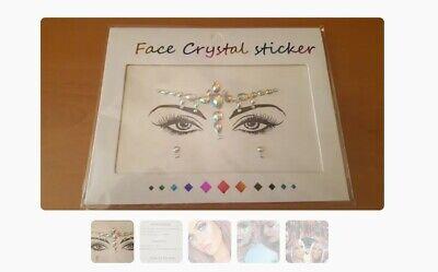 Cristales decorativos para la cara.