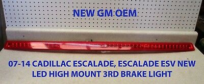 NEW GENUINE OEM 07,08,09,10,11,12 13 14 ESCALADE & ESV 3RD THIRD BRAKE LIGHT