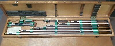 Mitutoyo 141-122 8-40 Inside Micrometer Complete Set Newused