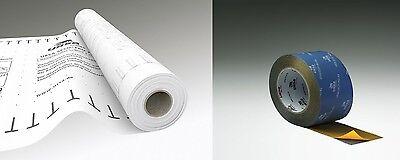 3 tlg. SET Ursa SECO® PRO 2 & Klebeband Dampfbremsfolie Dampfsperre Dampfbremse